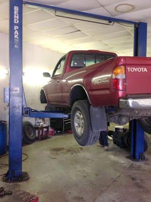 Howards Automotive Raised Truck